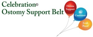 Celebration Ostomy Support Belt - Provides Comfort and Mobility and Security